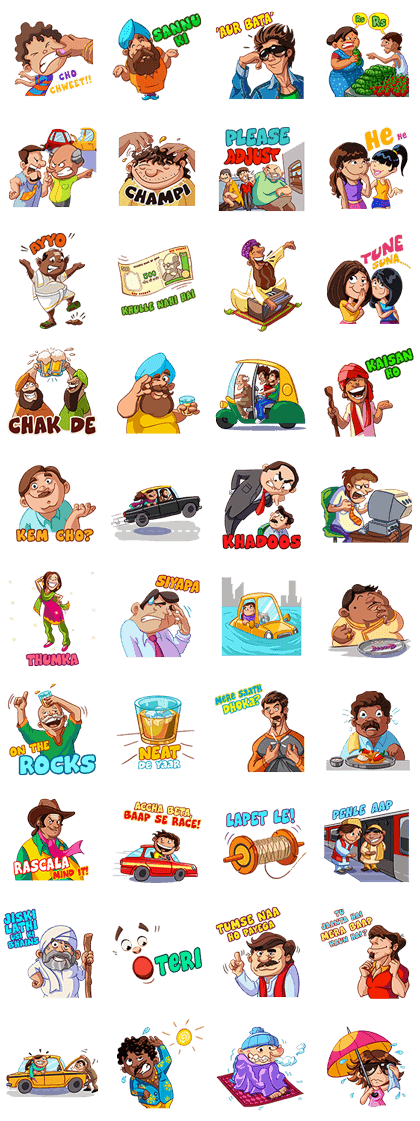 Desipanti Line Sticker GIF & PNG Pack: Animated & Transparent No Background | WhatsApp Sticker