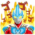 FamilyMart × Ultraman Sticker for LINE & WhatsApp | ZIP: GIF & PNG