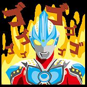 FamilyMart × Ultraman Sticker for LINE & WhatsApp | ZIP: GIF & PNG