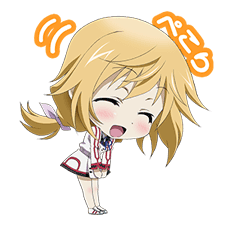 INFINITE STRATOS Sticker for LINE & WhatsApp | ZIP: GIF & PNG