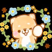 Iyashibainu's Doggie Days: Nordic Style Sticker for LINE & WhatsApp | ZIP: GIF & PNG