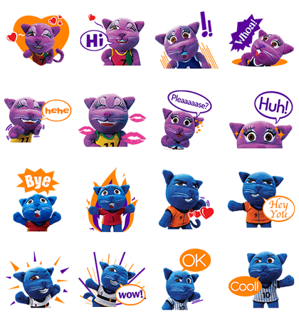 KAX Line Sticker GIF & PNG Pack: Animated & Transparent No Background   WhatsApp Sticker