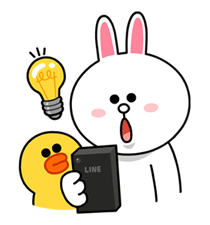 LINE Characters: News it or lose it. Sticker for LINE & WhatsApp | ZIP: GIF & PNG