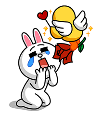 LINE LANCÔME Beauty Special Sticker for LINE & WhatsApp | ZIP: GIF & PNG