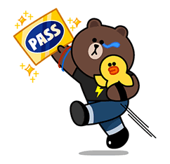 LINE SPECTACULAR AUDITION Sticker for LINE & WhatsApp | ZIP: GIF & PNG