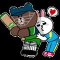 LINE character's Cricket Challenge!