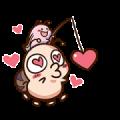 Love Love Tumurin 2 Sticker for LINE & WhatsApp | ZIP: GIF & PNG