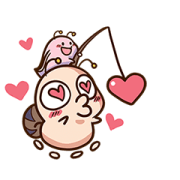 Love Love Tumurin 2 Sticker for LINE & WhatsApp | ZIP: GIF & PNG