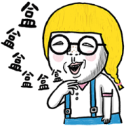 Peach Baby: Funny Effects Sticker for LINE & WhatsApp | ZIP: GIF & PNG