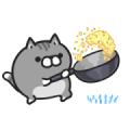Plump Dog & Plump Cat Animated 4 Sticker for LINE & WhatsApp | ZIP: GIF & PNG