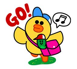 Sally's School Life Sticker for LINE & WhatsApp | ZIP: GIF & PNG
