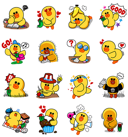 Sally's School Life Line Sticker GIF & PNG Pack: Animated & Transparent No Background | WhatsApp Sticker