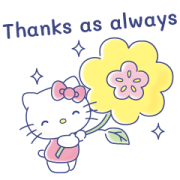 Sanrio Girls Get to Work Sticker for LINE & WhatsApp | ZIP: GIF & PNG