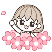 Ssumgirl Sticker for LINE & WhatsApp | ZIP: GIF & PNG