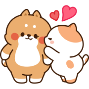 Tonton Friends Effect Stickers Sticker for LINE & WhatsApp | ZIP: GIF & PNG
