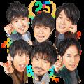 V6 Smile Up! Stickers [BIG]