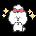 Wanko Spoiled Puppy Sticker for LINE & WhatsApp | ZIP: GIF & PNG