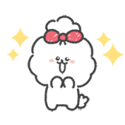 Wanko Spoiled Puppy Sticker for LINE & WhatsApp | ZIP: GIF & PNG
