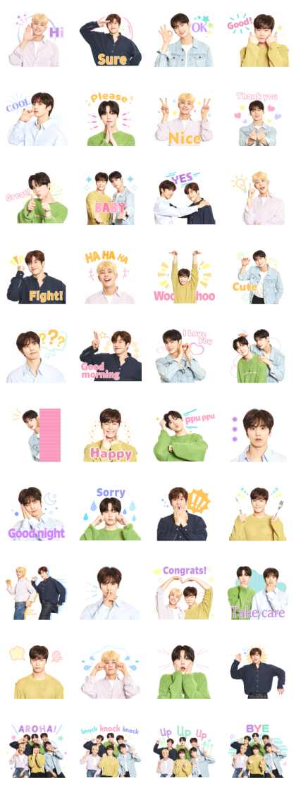 ASTRO Line Sticker GIF & PNG Pack: Animated & Transparent No Background | WhatsApp Sticker