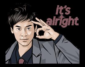 Bie Sukrit Sticker for LINE & WhatsApp | ZIP: GIF & PNG