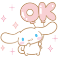 Cinnamoroll Moving Backgrounds Sticker for LINE & WhatsApp | ZIP: GIF & PNG