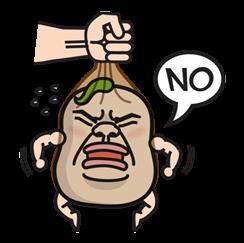Daikon Bros Sticker for LINE & WhatsApp | ZIP: GIF & PNG