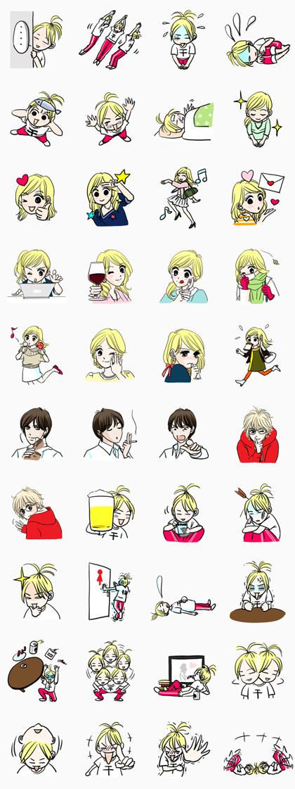 HOTARU Line Sticker GIF & PNG Pack: Animated & Transparent No Background | WhatsApp Sticker