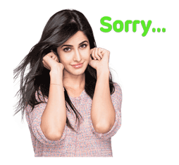 Katrina Kaif Sticker for LINE & WhatsApp | ZIP: GIF & PNG