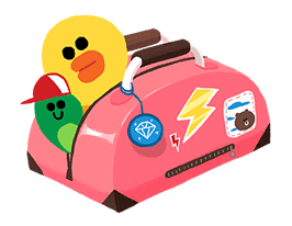 LINE Characters: Cuter Is Better Sticker for LINE & WhatsApp | ZIP: GIF & PNG