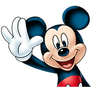 Mickey Mouse: Lovely Smile Sticker for LINE & WhatsApp   ZIP: GIF & PNG