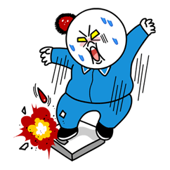 Moon's Dieting Special Sticker for LINE & WhatsApp | ZIP: GIF & PNG