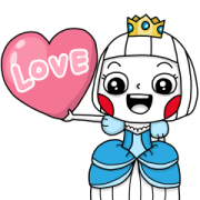 Ms Big Royal Style Animated Stickers Sticker for LINE & WhatsApp | ZIP: GIF & PNG