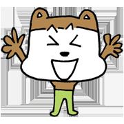 Poo-taro & Happy rabit Sticker for LINE & WhatsApp   ZIP: GIF & PNG