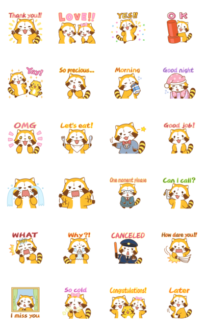 Rascal Moving Backgrounds Line Sticker GIF & PNG Pack: Animated & Transparent No Background | WhatsApp Sticker