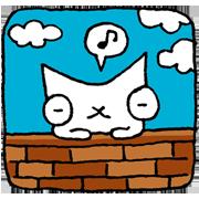 SNOWCAT Sticker for LINE & WhatsApp | ZIP: GIF & PNG
