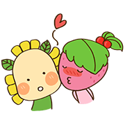 The SALADS Sticker for LINE & WhatsApp | ZIP: GIF & PNG