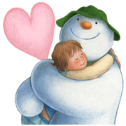 The Snowman Sticker for LINE & WhatsApp | ZIP: GIF & PNG