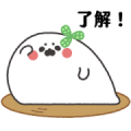 The Nothing Seal (Food Edition) Sticker for LINE & WhatsApp | ZIP: GIF & PNG