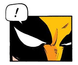 X-MEN Wolverine Sticker for LINE & WhatsApp   ZIP: GIF & PNG