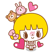 Yelly Sticker for LINE & WhatsApp | ZIP: GIF & PNG