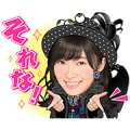 AKB48: Dulcet Tones Sticker for LINE & WhatsApp | ZIP: GIF & PNG