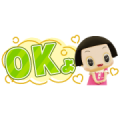 Chico Will Scold You! Small Stickers Sticker for LINE & WhatsApp | ZIP: GIF & PNG