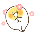 Egg boy 2 Sticker for LINE & WhatsApp | ZIP: GIF & PNG