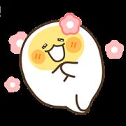 Egg boy 2 Sticker for LINE & WhatsApp | ZIP: GIF & PNG