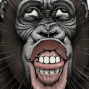 Gorilla Gorilla Big 2: Icebreakers Sticker for LINE & WhatsApp | ZIP: GIF & PNG