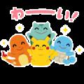 Irasutoya × Pokémon Pika Pika Stickers Sticker for LINE & WhatsApp | ZIP: GIF & PNG