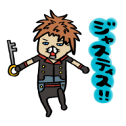 KINGDOM HEARTS by Steven Spielhamburg Sticker for LINE & WhatsApp | ZIP: GIF & PNG