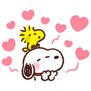 Kanahei × Snoopy Sticker for LINE & WhatsApp | ZIP: GIF & PNG