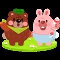 LINE PokoPoko Baby Pokota Stickers