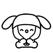 Meowy Hyper Cat Sticker for LINE & WhatsApp   ZIP: GIF & PNG